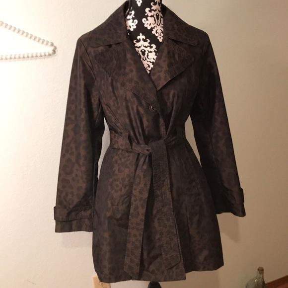 420b647ea7bc Dana Buchman Jackets & Blazers - NWOT Trendy Rain Resistant Light Weigh Trench  Coat